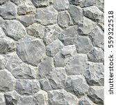 gray stone wall texture and... | Shutterstock . vector #559322518