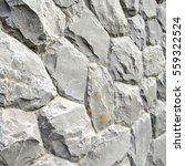 gray stone wall texture and... | Shutterstock . vector #559322524