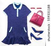 beautiful luxury women clothes... | Shutterstock . vector #559331188