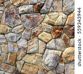 brown stone wall texture and... | Shutterstock . vector #559343944