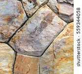 brown stone wall texture and... | Shutterstock . vector #559344058