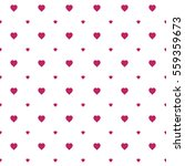seamless heart pattern... | Shutterstock .eps vector #559359673