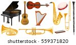 different types of classical... | Shutterstock .eps vector #559371820