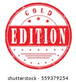 "rubber stamp with text ""gold... 