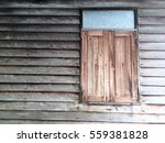 old wood wall and window... | Shutterstock . vector #559381828
