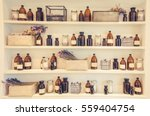 blurred  image spa collage... | Shutterstock . vector #559404754