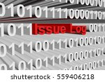 issue log in the form of binary ... | Shutterstock . vector #559406218