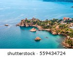 areal view of cefalu  italy.... | Shutterstock . vector #559434724