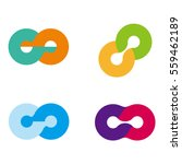 design round wheel logo element.... | Shutterstock .eps vector #559462189