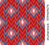 abstract ethnic ikat pattern... | Shutterstock .eps vector #559469674