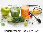 fruits  vegetables  juice ... | Shutterstock . vector #559475269