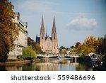 strasbourg  france october 2016.... | Shutterstock . vector #559486696