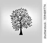 vector tree illustration | Shutterstock .eps vector #559489774