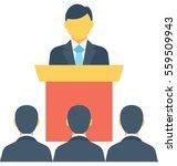 speech vector icon   Shutterstock .eps vector #559509943