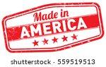 made in america stamp | Shutterstock .eps vector #559519513