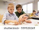 education  children  technology ... | Shutterstock . vector #559520269