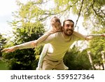 family  parenthood  fatherhood... | Shutterstock . vector #559527364