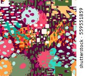 abstract art seamless pattern ... | Shutterstock .eps vector #559551859