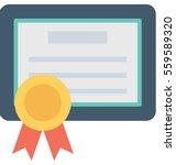 degree vector icon | Shutterstock .eps vector #559589320