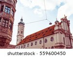 traditional street view of old... | Shutterstock . vector #559600450