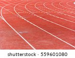 athletic running track | Shutterstock . vector #559601080