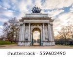 Wellington Arch In London\'s...