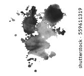 abstract watercolor grayscale... | Shutterstock .eps vector #559611319