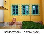 beautiful building facade   Shutterstock . vector #559627654