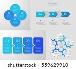 infographics step by step.... | Shutterstock .eps vector #559629910