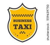 taxi badge vector illustration. | Shutterstock .eps vector #559639750