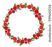 decorative round  frame ... | Shutterstock .eps vector #559642018