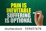 pain is inevitable suffering is