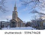 tromso  norway   february 04 ... | Shutterstock . vector #559674628