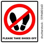 do not step here please sign... | Shutterstock .eps vector #559680160