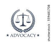 advocacy emblem and symbol... | Shutterstock .eps vector #559681708