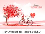valentine holiday background... | Shutterstock .eps vector #559684660
