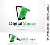 digital money logo template... | Shutterstock .eps vector #559692880