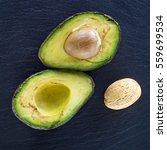 Small photo of avocado, ossicle