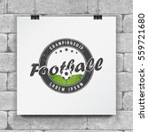 soccer football club. sport... | Shutterstock .eps vector #559721680