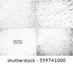 grunge overlay textures.vector...   Shutterstock .eps vector #559741000