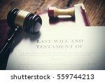 last will testament | Shutterstock . vector #559744213