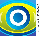sign with eye icon background | Shutterstock . vector #559746418