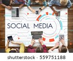 digital community stay... | Shutterstock . vector #559751188
