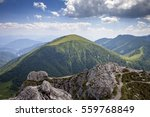 beautiful scenery from top of... | Shutterstock . vector #559768849