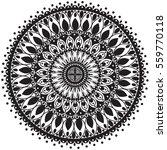 mandala. vintage decorative... | Shutterstock .eps vector #559770118