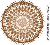 mandala. vintage decorative... | Shutterstock .eps vector #559770124