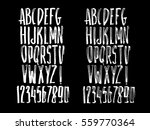 graphic font for your design.... | Shutterstock .eps vector #559770364