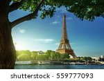 eiffel tower  paris. france | Shutterstock . vector #559777093