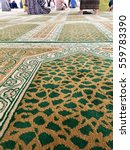 closed up of muslim prayer mat...   Shutterstock . vector #559783390
