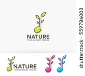nature music  leaf  therapy ...   Shutterstock .eps vector #559786003